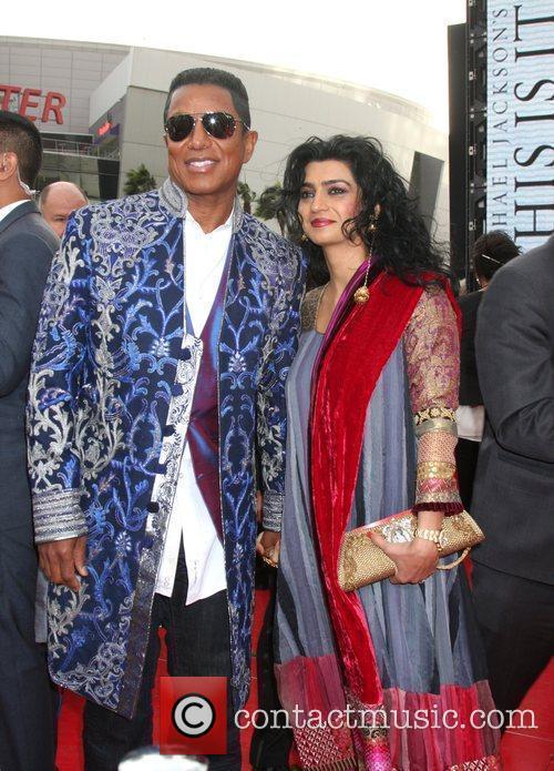 Jermaine Jackson and His Wife Halima Rashid 4