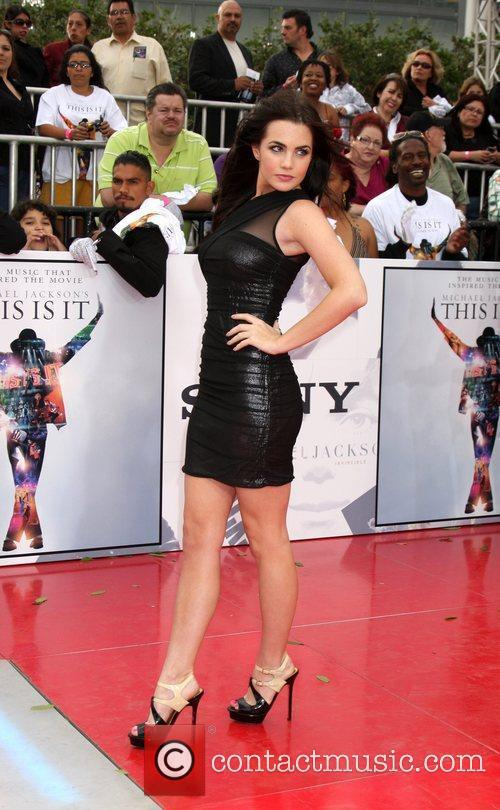 Jessica Lowndes Michael Jackson's 'This Is It' Premiere...