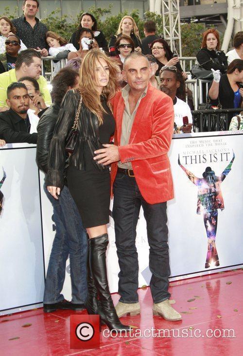 Christian Audigier and wife Ira Audigier Michael Jackson's...