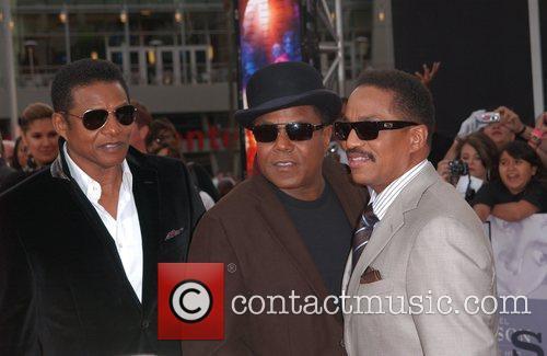 Randy Jackson, Marlon Jackson and Tito Jackson Michael...