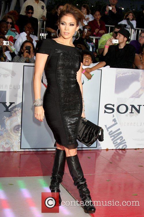 Jennifer Lopez Premiere of 'This Is It' held...