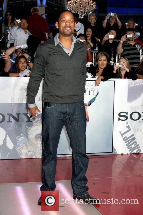 Will Smith Premiere of 'This Is It' held...
