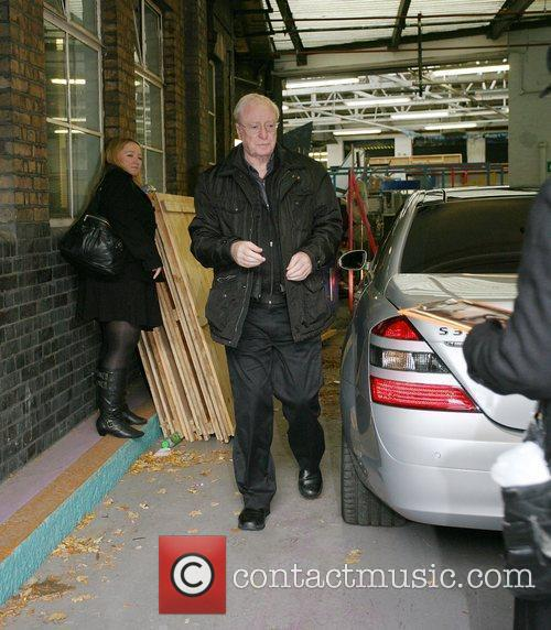 Michael Caine outside the 'This Morning' studios London,...