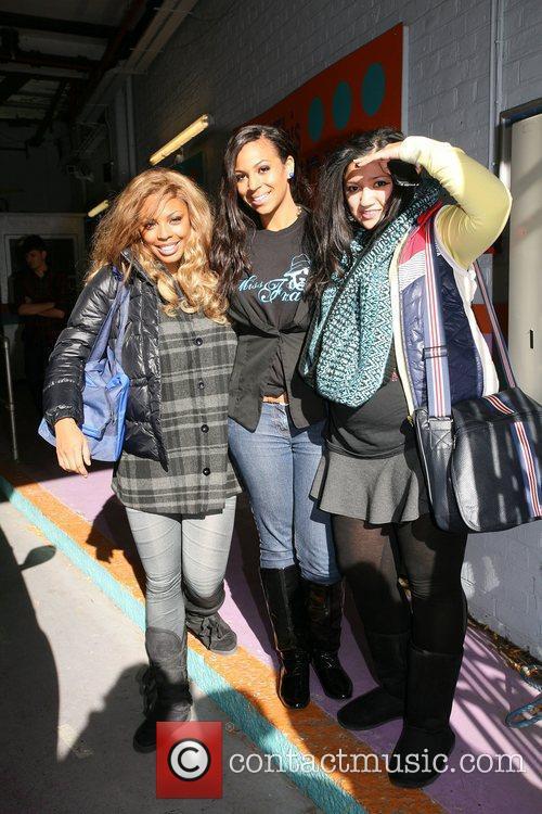 Shaniece Davis, Shar Alexandra and Graziella Affinita of...