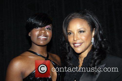 Recording artist Fantasia & Lynn Whitfield  attends...