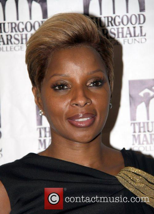 Recording artist Mary J. Blige  attends the...