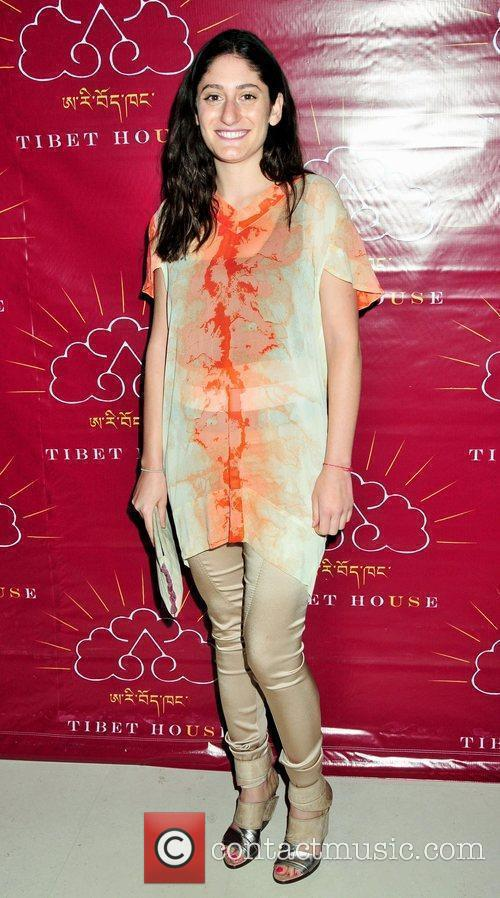 Attends the 2009 Tibet House benefit auction at...