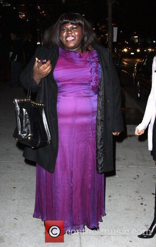 Gabourey Sidibe and Tim Burton 3
