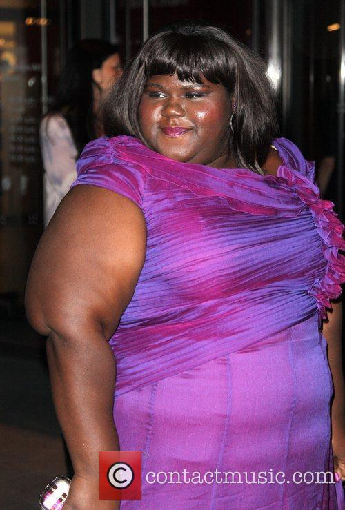 Gabourey Sidibe and Tim Burton 4
