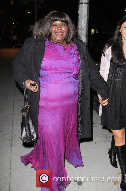 Gabourey Sidibe and Tim Burton 5