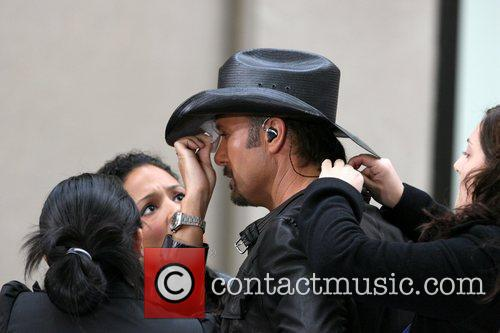 Tim McGraw, Rockefeller Plaza