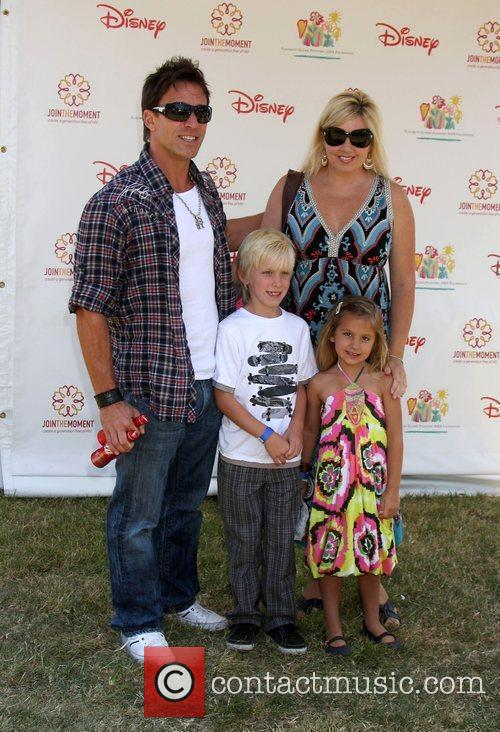 Dan Cortese and DeeDee Cortese with their children...