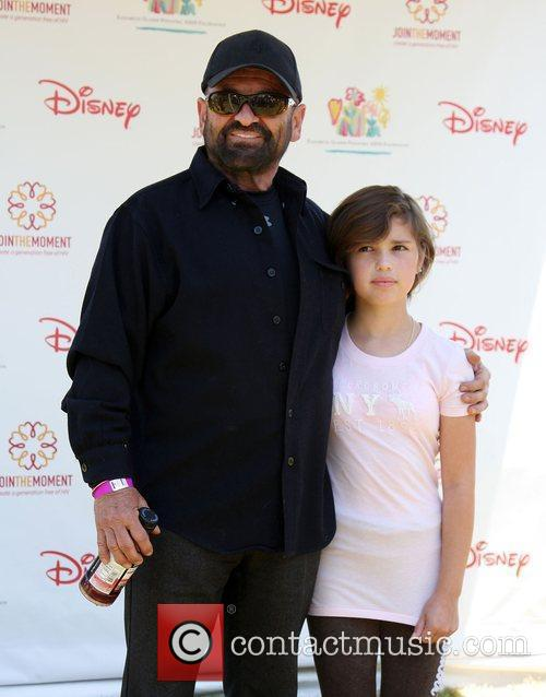 Joe Pesci with his daughter Tiffany Elizabeth Glaser...