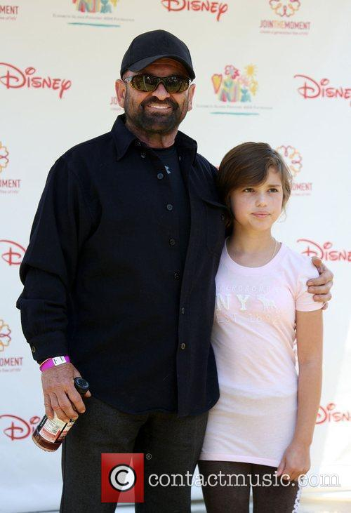 Joe Pesci with his daughter Tiffany Pesci Elizabeth...