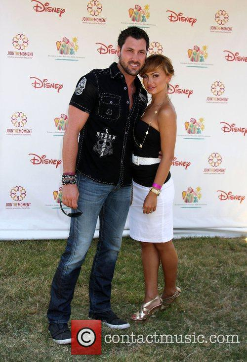 Maksim Chmerkovskly and Karina Smirnoff Elizabeth Glaser Pediatric...