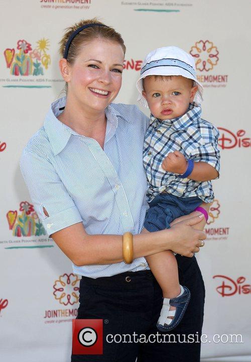 Melissa Joan Hart and Braydon Hart Wilkerson 1