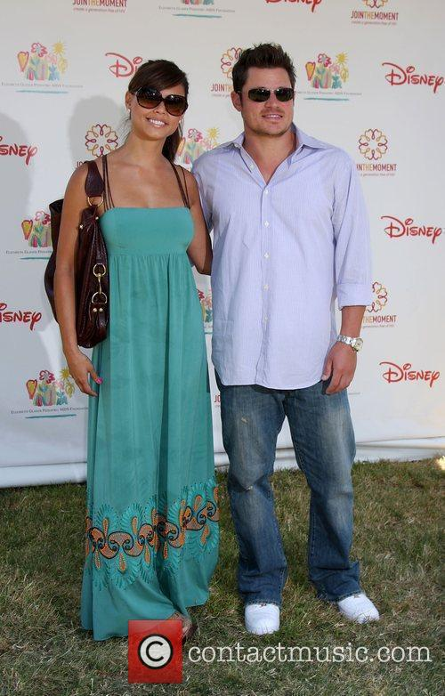 Vanessa Minnillo and Nick Lachey  Elizabeth Glaser...