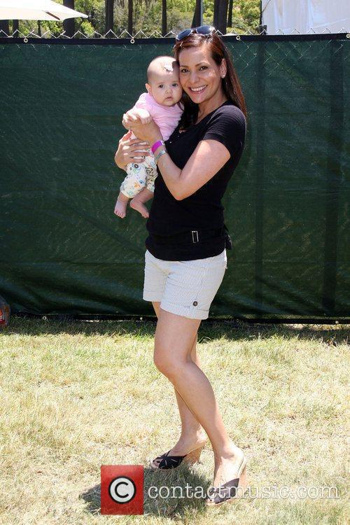 Constance Marie and daughter Luna Marie Elizabeth Glaser...