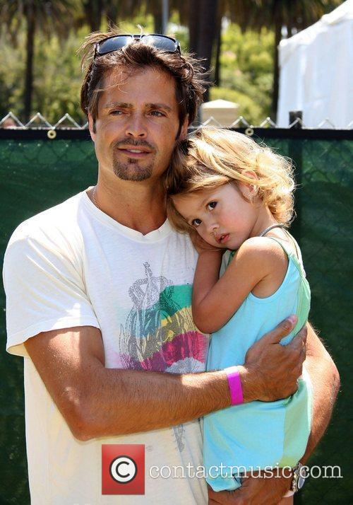 David Charvet and Guest Elizabeth Glaser Pediatric AIDS...