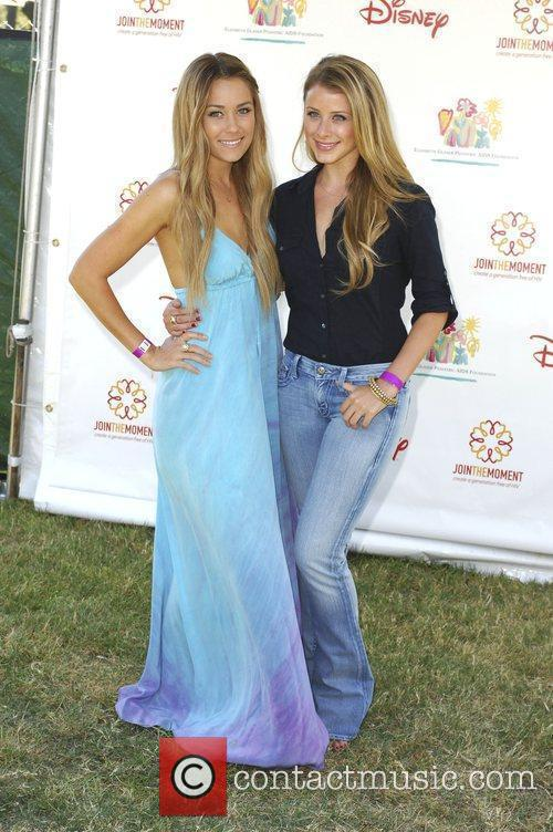 Lauren Conrad and Lauren Bosworth Elizabeth Glaser Pediatric...