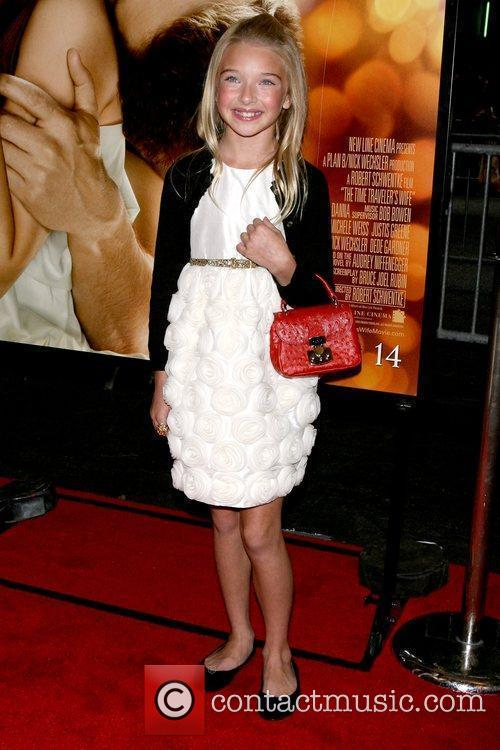 Brooklynn Proulx Premiere of 'The Time Traveler's Wife'...