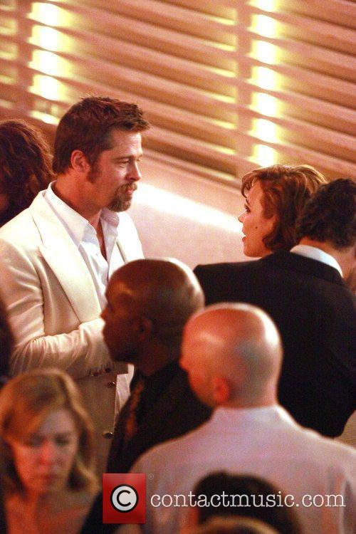 Brad Pitt and Rachel Mcadams 4
