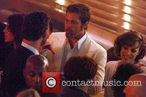 Brad Pitt, Eric Bana and Rachel Mcadams 10