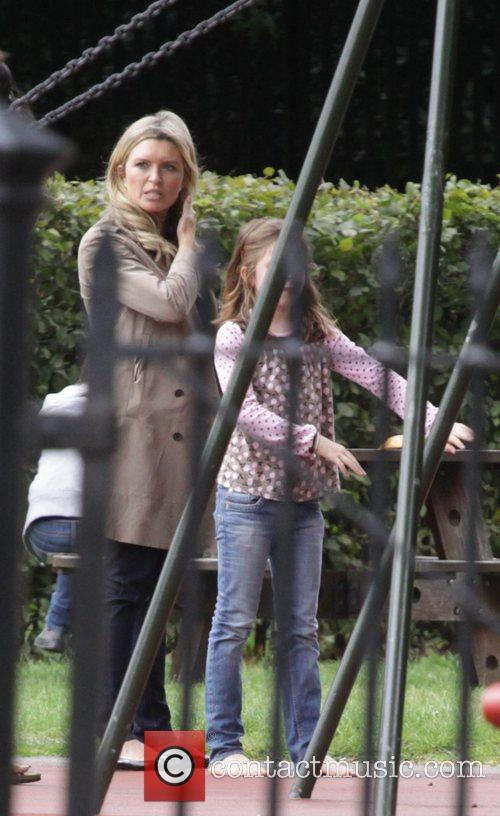 'Holby City' star Tina Hobley takes her daughter...