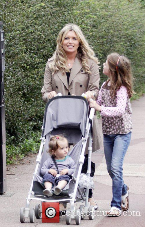 'Holby City' star Tina Hobley takes her daughters...
