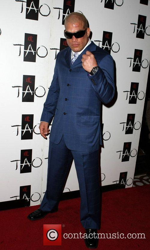 Hosts an after fight party at TAO nightclub...