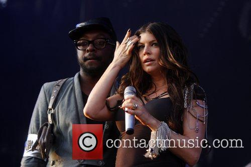 Fergie and Will.i.am of The Black Eyed Peas...