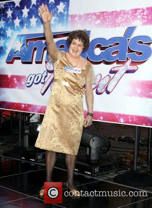 Lester Holt as Susan Boyle Halloween Weekend Today...