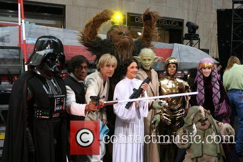 Ann Curry as Darth Vader, Al Roker as...