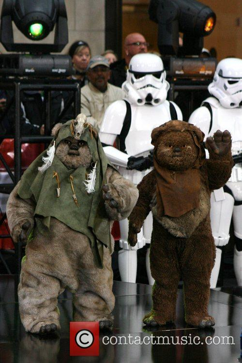 Ewoks NBC's 'Today Show' anchors dress as the...