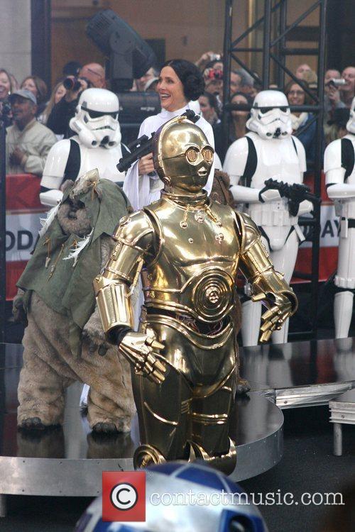 Kathie Lee Gifford as C-3PO NBC's 'Today Show'...