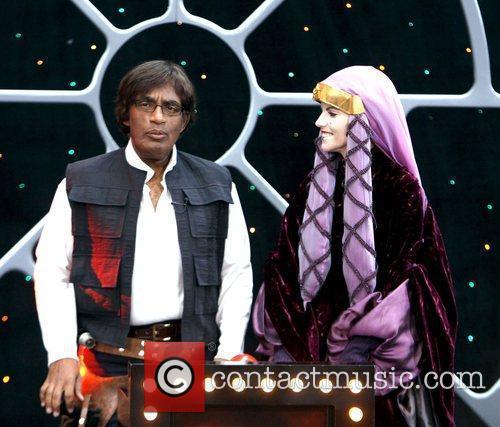 Al Roker as Han Solo and Natalie Morales...