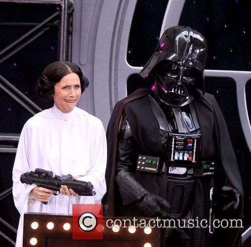 Ann Curry and Star Wars 4
