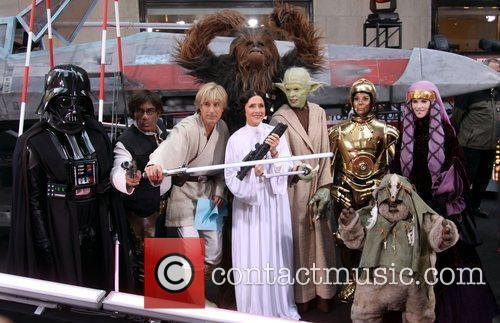 Ann Curry, Al Roker, Matt Lauer, Meredith Vieira and Star Wars 3