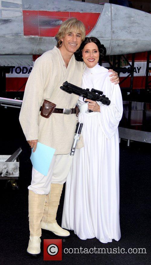 Matt Lauer, Meredith Vieira and Star Wars 6