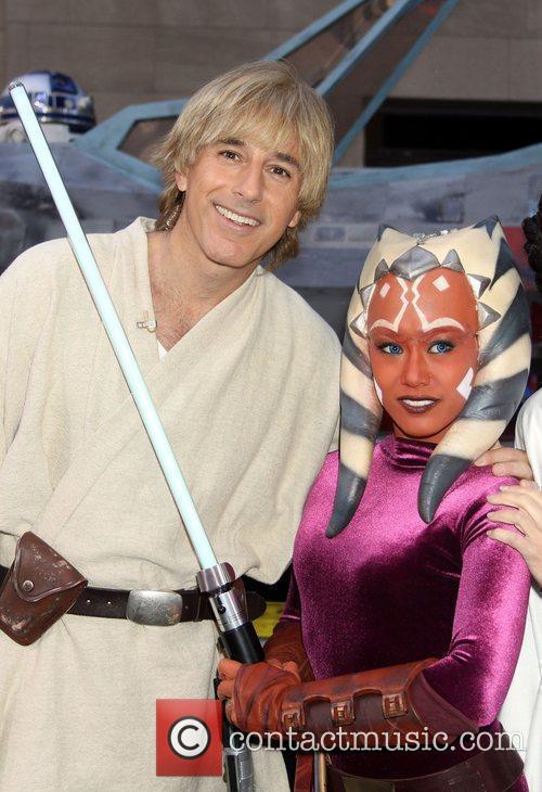 Matt Lauer and Star Wars 9