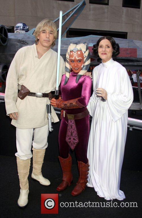 Matt Lauer, Meredith Vieira and Star Wars 7