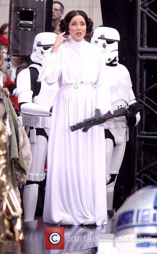 Meredith Vieira as Princess Leia NBC's 'Today Show'...