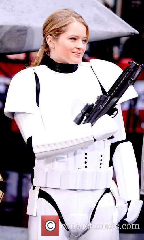 Sara Haines as Stromtrooper  NBC's 'Today Show'...