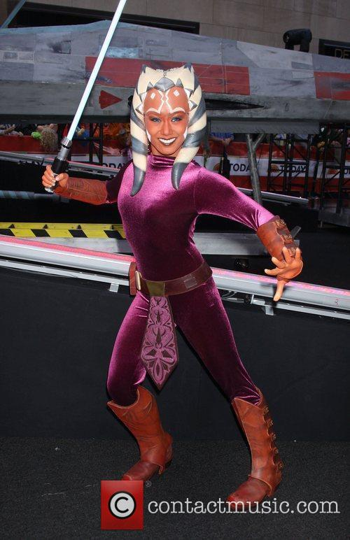 Ahsoka from the Clone Wars NBC's 'Today Show'...