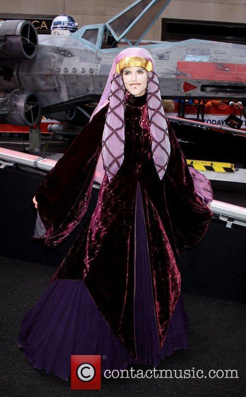 Natalie Morales as Queen Amidala NBC's 'Today Show'...