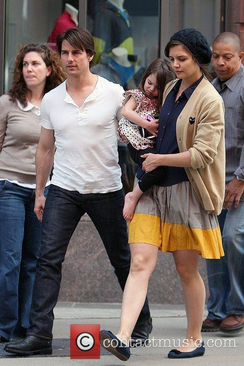 Tom Cruise and Katie Holmes 4