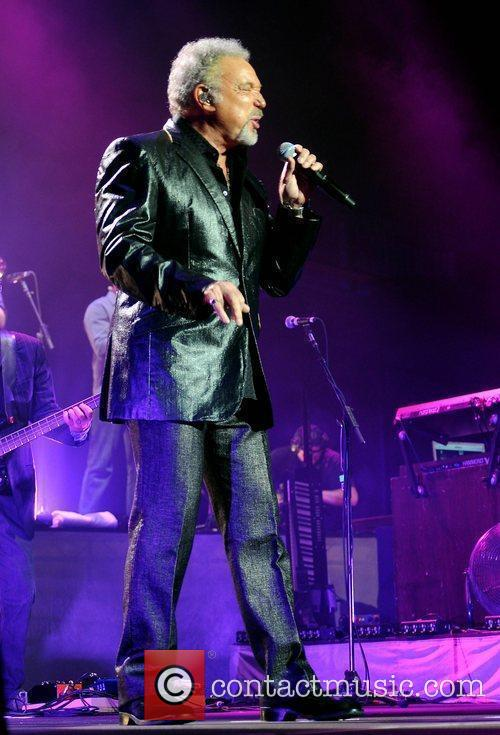 Tom Jones  performs at the O2 Arena...
