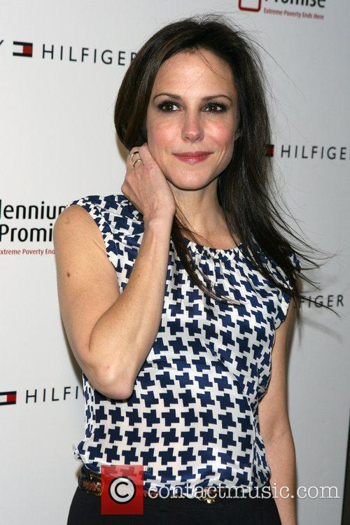 Mary-louise Parker and Tommy Hilfiger