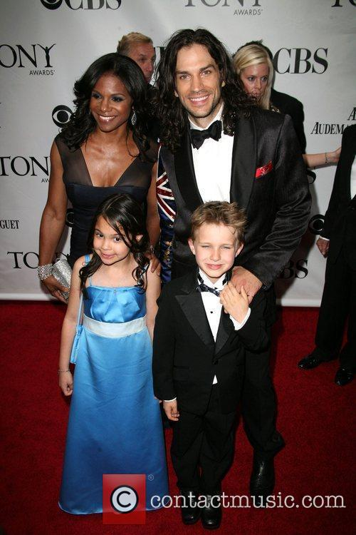 Actor Will Swenson and guests The 63rd Tony...