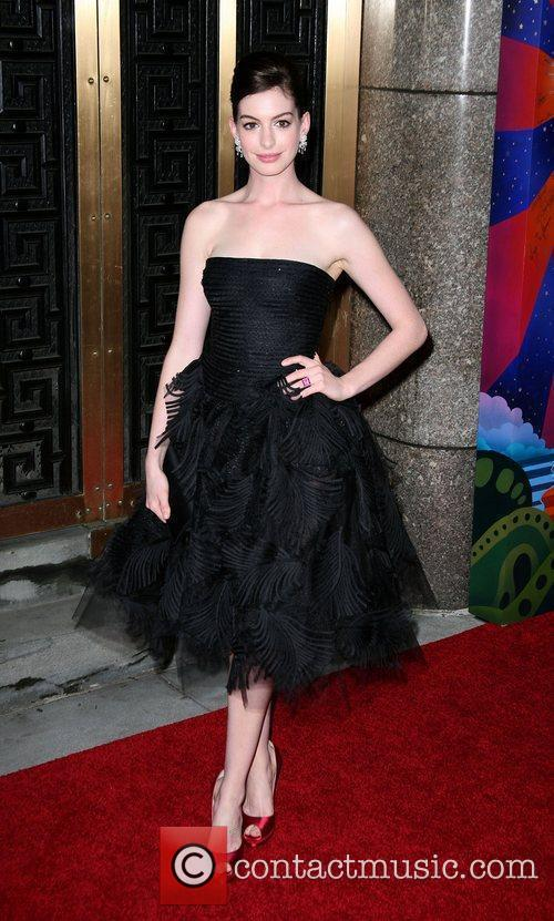 Anne Hathaway The 63rd Tony Awards held at...